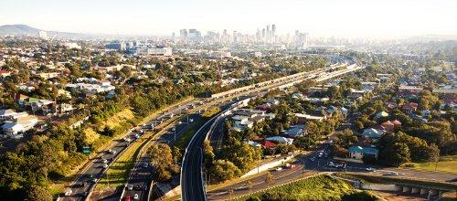 Brisbane Commuting to City