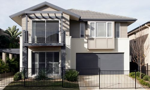 Australian House Prices. modern-suburban-home