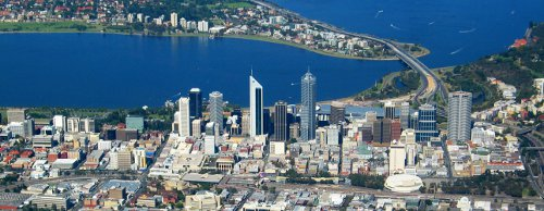 Perth's Commercial Business District (CBD)