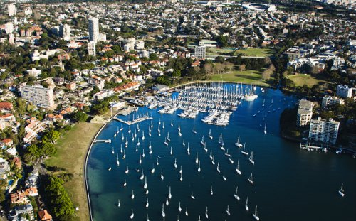Rushcutters Bay, Eastern Sydney