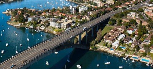 Gladesville Bridge, Sydney