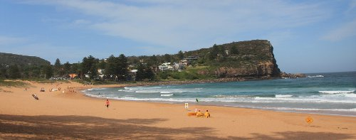 Avalon beach, Northern Beaches, Sydney.