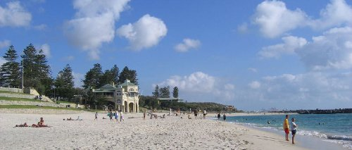 Cottesloe Beach, Western Perth. Image by Bram Souffreau